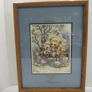 Framed Art Print- Friendship is the Bread of Life